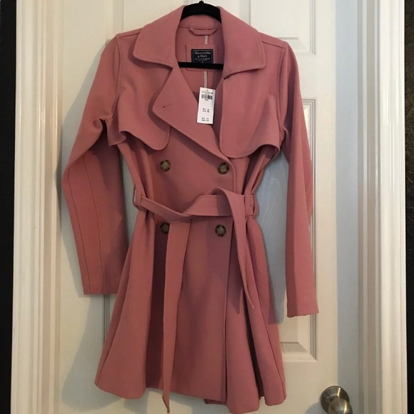 Abercrombie & Fitch Trench Coat Size Small NWT